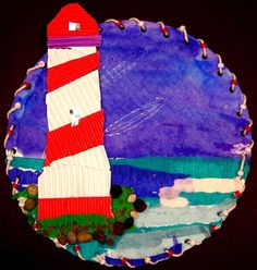 Fantastic Lighthouses found on Artsonia, Belvedere Elementary School