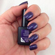 Sensationail gel's #purpleorchid - purple orchid