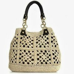 Crochetemoda bag very nice