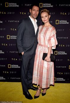 Kate Bosworth and Michael Polish look cosy at LA party | Daily Mail Online