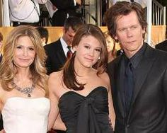 'Hollow Man' star Kevin Bacon says he is proud of his daughter Sosie, who has been named Miss Golden Globe 2014.