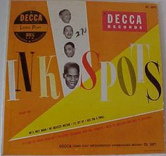 Ink Spots Decca label DL 5071