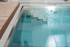 MODERN stairs Modern Stairs, Pool Accessories, Bathtub, Bathroom, Standing Bath, Washroom, Bathtubs, Bath Tube, Full Bath