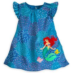 Ariel Woven Dress for Girls   Dresses & Skirts   Disney Store
