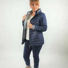 Pikowana kurtka przejściowa, rozmiary 44 do 54 Winter Jackets, Fashion, Winter Coats, Moda, Winter Vest Outfits, Fashion Styles, Fashion Illustrations