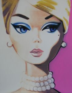 debbie curtis barbie art