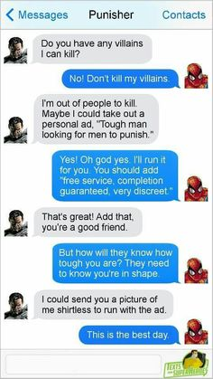 Spidey must be learning from Deadpool....