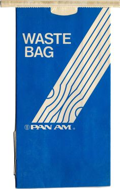Pan American Airways Airsickness Bag (1970s)