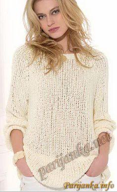 Пуловер (ж) 11*70 Phildar №2584