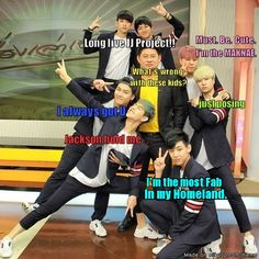 GOT7 in Thailand (again) | allkpop Meme Center