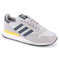 72048d44fab40 ZX500 OG ADIDAS ORIGINALS TRAINERS FOR MEN IN GREY LEGINK ALUMIN - ADIDAS  ORIGINALS