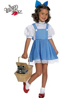 Remember the young girl Dorothy from the Wizard of Oz movie? Why not choose a deluxe Dorothy Child Costume from the Wizard of Oz collection of Halloween costumes that will make your little girl feel like the character from the story?