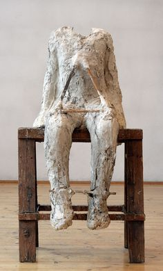 Abakanowicz-Plaster Body 5