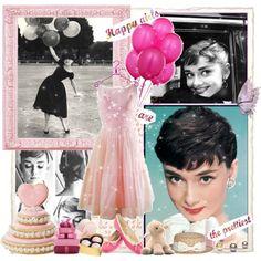 """Happy birthday Audrey!!!!"" by janjoplin on Polyvore"