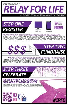 Relay For Life: Event Poster!