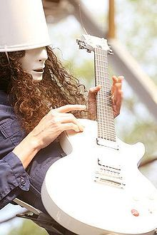 Buckethead, my favorite guitarist of all time. He plays the most beautiful music I've ever heard.