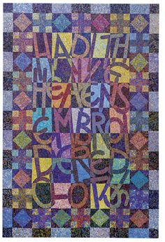Had I The Heavens' Embroidered Cloths Tom Phillips, Frank Auerbach, Heavens, Art School, Renaissance, Cloths, Mosaic, Museum, Tapestry