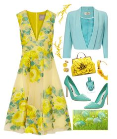 """Everything in Bloom'"" by dianefantasy ❤ liked on Polyvore featuring Lela Rose, Alice + Olivia, Precis Petite, Kate Spade, VANINA, springtime, polyvorecommunity, polyvoreeditorial and springfloraldress"
