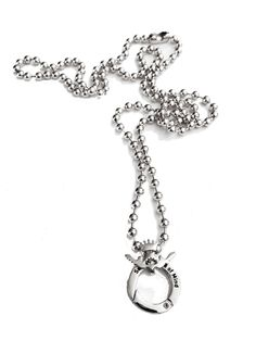 Silly Girl Vintage - Sasha's State of Mind, Silver Beaded Chain, £22.50 (http://www.sillygirlvintage.co.uk/sashas-state-of-mind-silver-beaded-chain/)