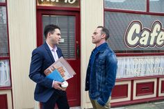 Todd Grimshaw (Bruno Langley) & Billy Mayhew (Daniel Brocklebank) (September 2016)