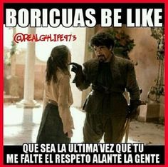 Boricuas be like ... Lmaoo!!