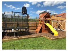 Kids Outdoor Play, Outdoor Play Areas, Outdoor Playground, Backyard For Kids, Backyard Play Areas, Plastic Playground, Outdoor Play Structures, Backyard Movie, Backyard Camping