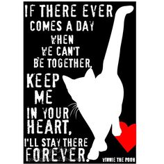 If there ever comes a day when we can't be together... Keep me in your heart, I'll stay there forever.