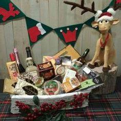 Cesta Grande de Navidad ideal para rifas de bares y restaurantes o para un buen regalo