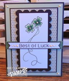 Scrappy Sweet Creations: Sami Stamps Release - Shamrock Girls!!