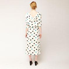 Vintage | Halston Dot Dress