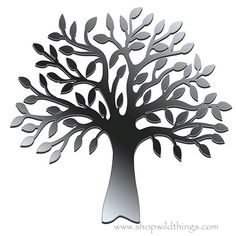 Tree of Life is a popular design in any decor. And now instantly apply anywhere! So versatile, they can be placed on walls, windows, sliding doors, cupboards, etc. Sturdy reflective plastic. Just peel