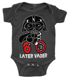 Amazon.com: Star Wars Darth Vader Later Movie Mini Fine Baby Creeper Romper Snapsuit: Clothing