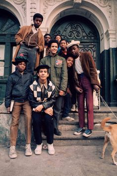 Teenagers in New York City's South Bronx, 1970