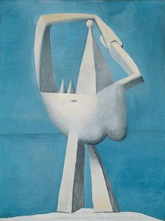 Pablo Picasso , Nude Standing by the Sea, 1929 Oil on canvas, 51 1/8 x 38 1/8 in. (129.9 x 96.8 cm)