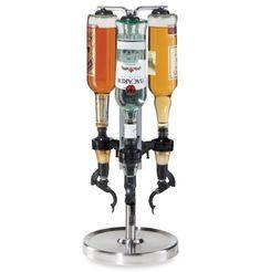 Oggi™ Professional 3-Bottle Revolving Bottle Dispenser Bar Accessories Tools #Oggi #winedispenser