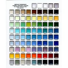"FREE Opaque Enamel Color ""Chip"" Chart for reference DO NOT Purchase"