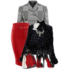 Prince of Wales Jacket by flowerchild805 on Polyvore featuring мода, Alexander McQueen, LE3NO, Christian Louboutin, Étoile Isabel Marant and Tuleh