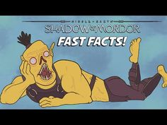 Middle-Earth: Shadows of Mordor - Fast Facts! Shadow Of Mordor, Middle Earth, Winnie The Pooh, Shadows, Disney Characters, Fictional Characters, Comic Books, Facts, Comics