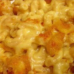 Cracker Barrel Macaroni and Cheese @keyingredient #cheese