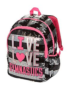 Justice is your one-stop-shop for on-trend styles in tween girls clothing & accessories. Shop our MOOS. Gymnastics Equipment For Home, Gymnastics Bags, Gymnastics Outfits, Gymnastics Stuff, Cute Girl Backpacks, Fashion Bags, Girl Fashion, Justice Clothing, Tween Clothing