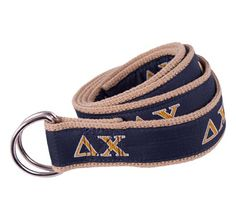 Delta Chi Fraternity D-Ring Belt