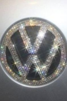 Custom Handmade VW Emblems With 100 % Swarovski Crystals. $135.00, via Etsy.