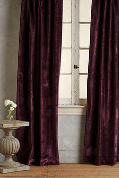 Slub Velvet Curtain