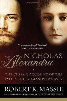 Nicholas and Alexandra by Robert K. Massie    One of my favorite books read while in college. An interesting study of true love, aristocracy, Bolsheviks, and tragedy. Also, it is very interesting to delve into the family connections that have ruled over Europe for thousands of years.