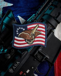 """"""" patriot volunteer, fighting for country and his rights"""" Funny Patches, Cool Patches, Bullet Casing Crafts, Tactical Patches, Tactical Gear, Patriotic Tattoos, Hand Cannon, Morale Patch, Metal Engraving"""
