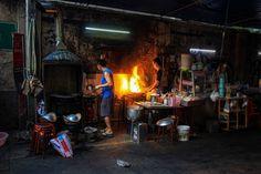 Bangkok Chinatown Buddha Tempel, Bangkok, Painting, Chinese Buildings, Flower Market, Tours, Tips, Painting Art, Paintings