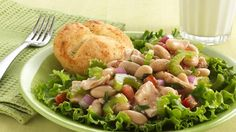 Add a hearty and delicious tuna salad to your cooking-for-two repertoire.