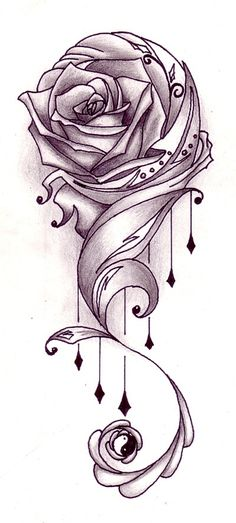 Have a good credit rose tattoo advocated by us. The very first thing I wanted. This is a very good idea. Select one of the different tattoo designs is very difficult for us. We have easily with the help of. New Rose Tattoo, Rose Vine Tattoos, Rose Tattoos For Men, Flower Tattoos, Tattoos For Guys, Tribal Rose Tattoos, Celtic Tattoos, Leg Tattoos, Tatoos