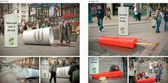 Bounty Guerilla Marketing Campaign: 122 Must See Guerilla Marketing Examples Photo