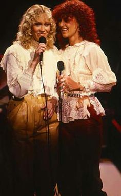 """ABBA in 1981 for the TV special """"Dick Cavett Meets ABBA"""""""
